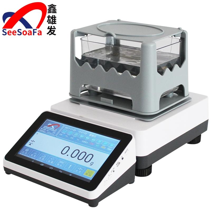 触摸屏固体密度计XFMD-3205A